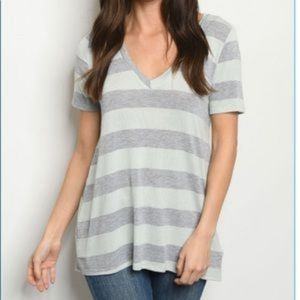Large knit tee shirt by fantastic fawn